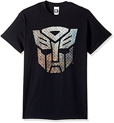 Transformers Men's Autobots Metal Logo T-Shirt