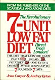 The Revolutionary Seven-Unit Low-Fat Diet, Jean Carper and Audrey Eyton, 0892561564