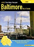 Baltimore, Maryland City and County Street Atlas, , 0875308996