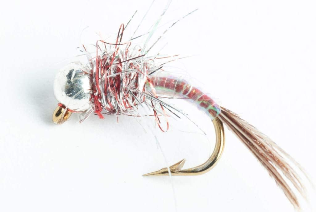 3 Black Bodied Olive Flash Tungsten Beaded Jig Hooked Nymphs