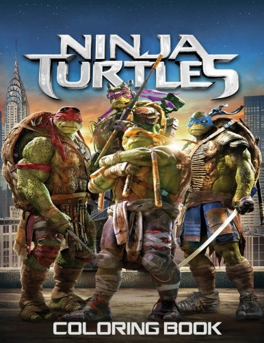 Ninja Turtles Coloring Book: Coloring Book for Kids and Adults 45+ illustrations (Perfect for Children Ages 3-5, 6-8, 8-12+)