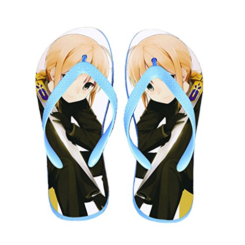 Bromeo Fate Zero Fate/stay Night Anime Unisex Flip Flops Chanclas 215