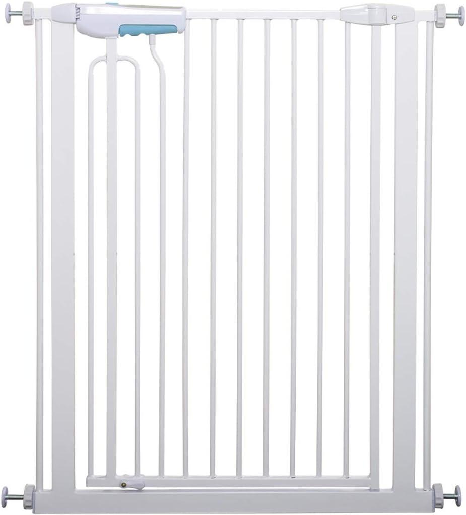 育児 ベビーゲート 室内セーフティゲイツ階段戸口のための調節可能なマウントされたエクストラワイド背の高いペットベビーゲート圧力 ベビーフェンス (Color : Height 90cm, Size : 100-105cm)