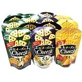 おかしのマーチ グリコ 生チーズのチーザ (3種類・計14個) セット F