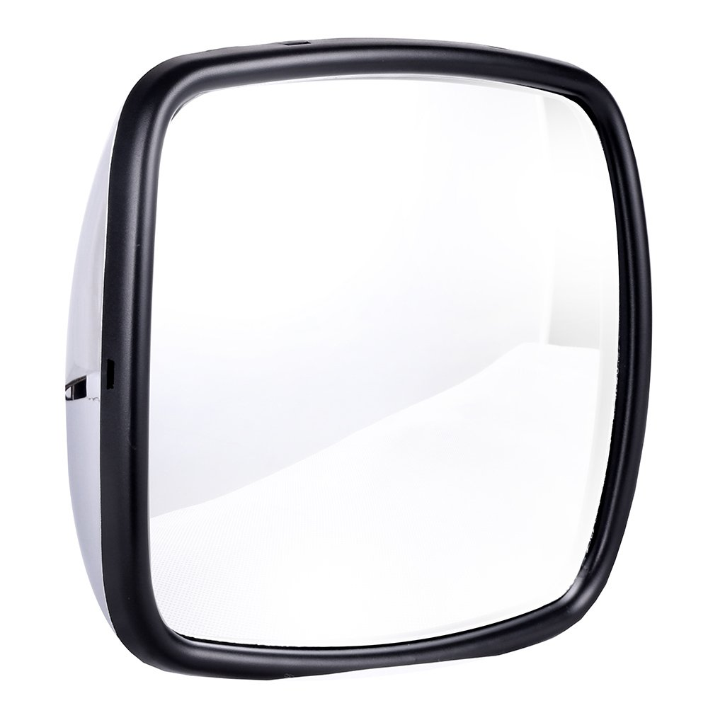 ECCPP 4PCS Mirrors Chrome Housing Driver or Passenger Side Heavy Duty Mirrors for 2004-2016 Freightliner Columbia Freightliner M2 Manual Adjusted Heated BHBU0503A1756