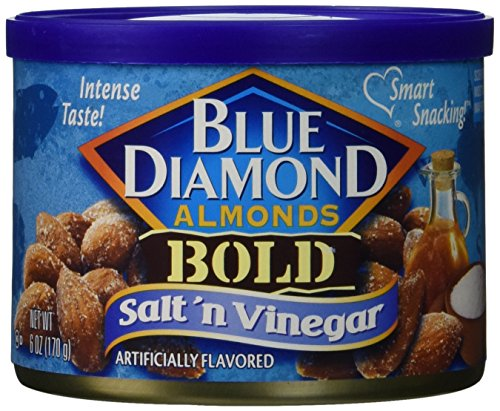 Blue Diamond Almonds Salt N Vinegar, 3 Pack by Blue Diamond Almonds