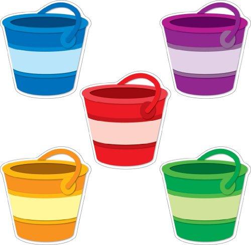 Carson Dellosa Buckets Cut-Outs (120122) -