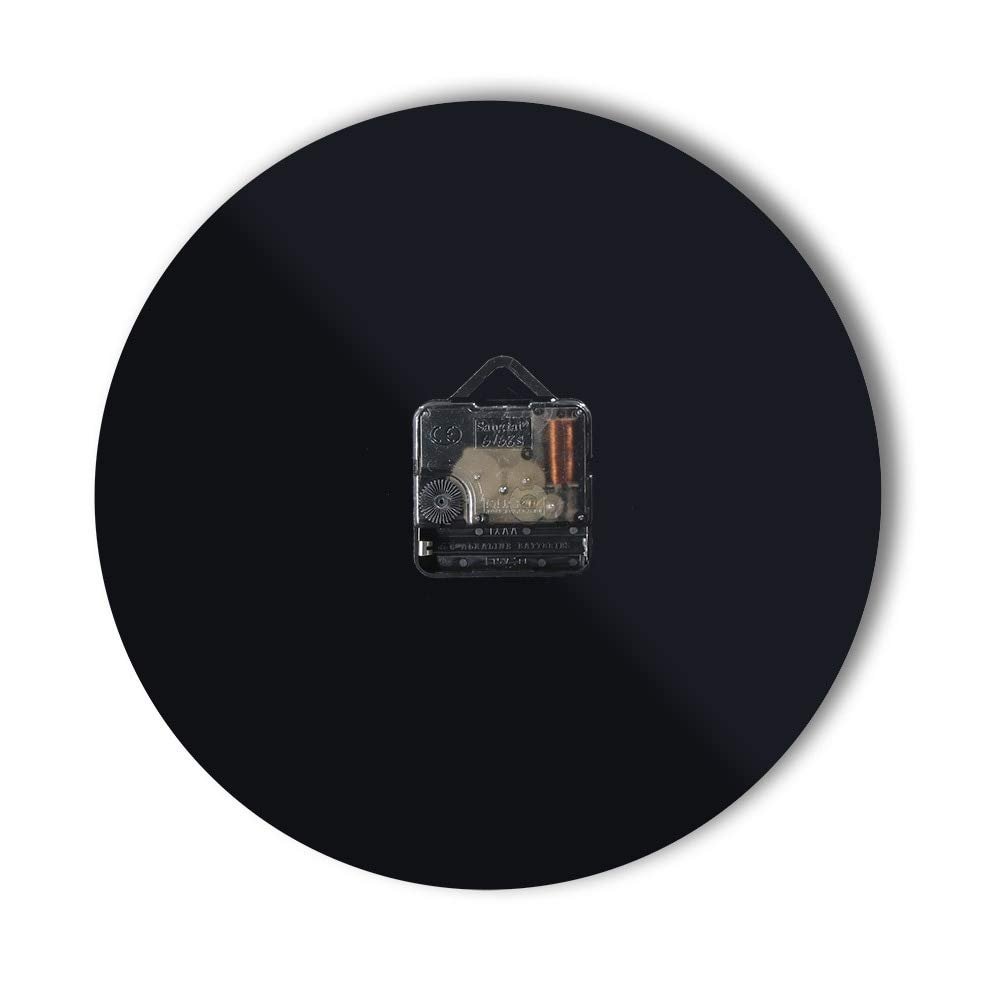 Kamas 1Piece Room Hanging Decorative 3D Wall Clock Pop Quiz Math 3D Wall Watches Saati Art Relojes De Pared Casa for Mathematics Lover - (Color: Black, ...
