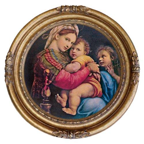 Design Toscano Madonna della Seggiola, 1514, Canvas Replica Painting: Small by Design Toscano
