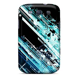 Premium Galaxy S3 Case - Protective Skin - High Quality For Circles And Lines