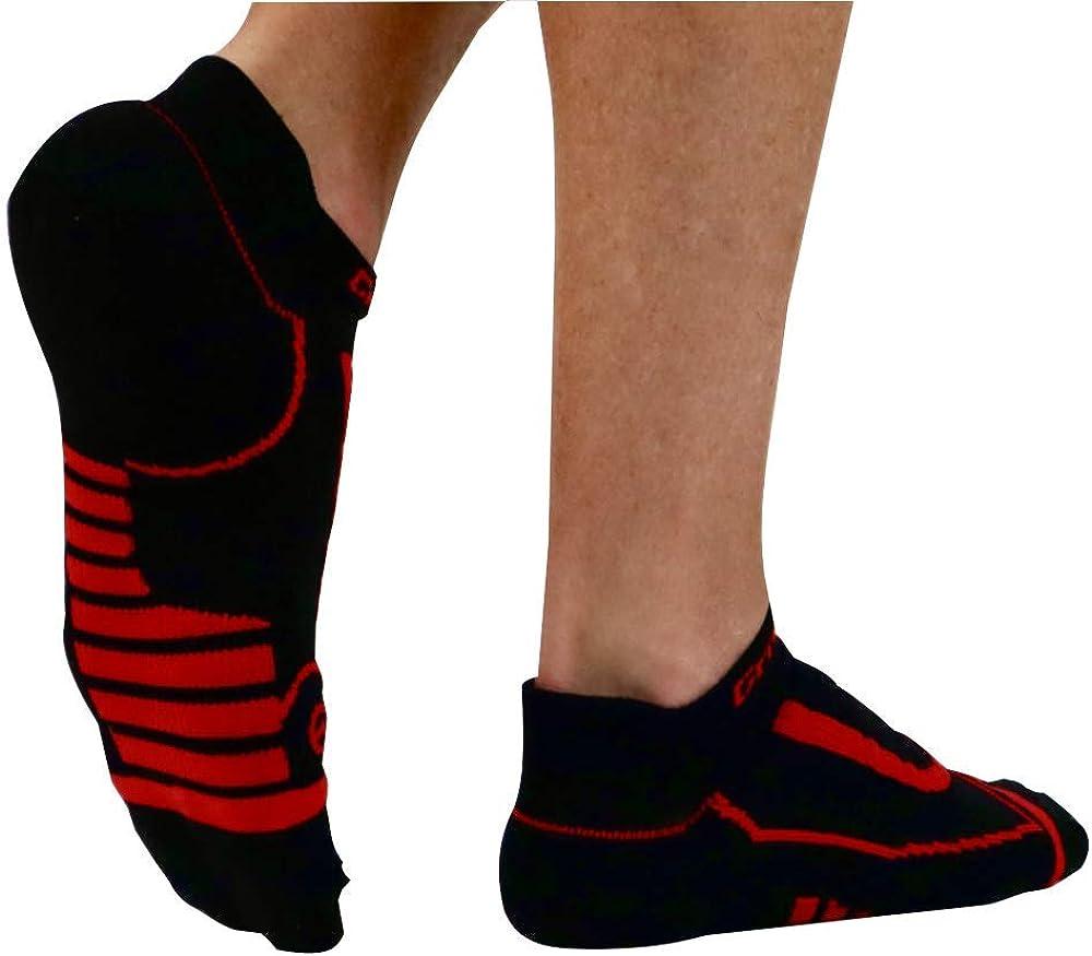Premium Low Cut No Show Athletic Socks Workout CrossFit 2 Pair Per Pack Unisex Running