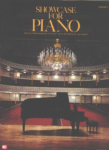 Showcase for Piano, Vol. 2: Special Arrangements of Great Popular Songs