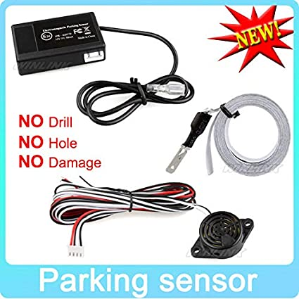 Amazon com: Hot Car Electromagnetic Parking Sensor No Holes\Easy