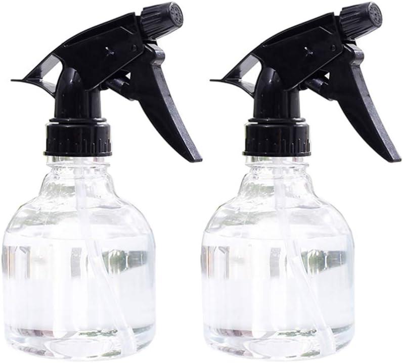 Yarnow 2Pcs Botella de Spray Recipientes de Plástico para Pulverizador Recargable Contenedor Recargable Botella de Pulverizador de Cabello para Aceites Esenciales Productos