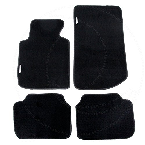 LT Sport Custom Fit 99-05 BMW 3-Series 2-Door E46 Premium Nylon Floor Mats -