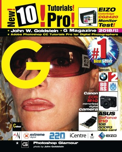 Download G Magazine 2018/63: Adobe Photoshop CC Tutorials Pro for Digital Photographers (Volume 63) ebook
