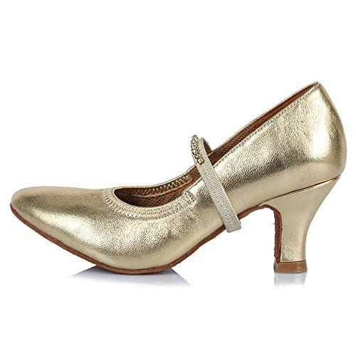 特派員原理までHROYL レディース ラテン ダンス シューズ 女性 社交 ダンス 靴 ローヒール 社交 ステージ ダンスシューズ バトゥーダンスシューズ R-AF305