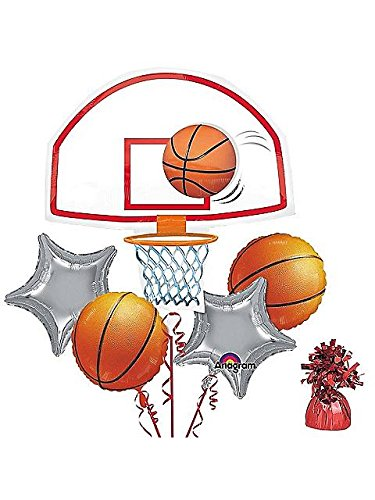 Costume Supercenter BB101323 Basketball Party Balloon (Super Hoops Costumes)