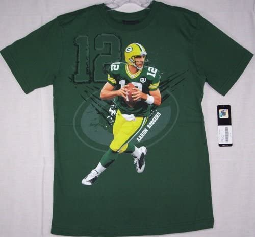Reebok Aaron Rodgers Green Bay Packers Youth Niño Player ...