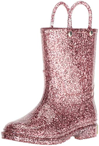 Pictures of Western Chief Kids' Wck Glitter PVC Rain Boot 2412626B 1