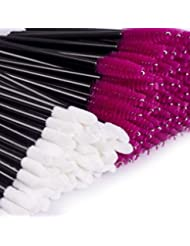Disposable Makeup Applicators - 200 Pcs Disposable Mascara & Lipstick Makeup Wands Brushes BTArtbox Eyelash & Lip Gloss Cosmetic Applicators Tool