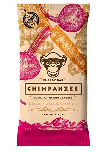 Barritas Energéticas Chimpanzee 20 x 55g Zanahoria y Remolacha: Amazon.es: Salud y cuidado personal