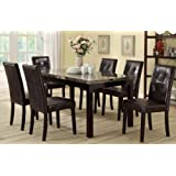 7 Piece Casual Dining Set By Poundex