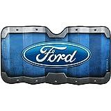 Plasticolor 003673R01 Accordion-Style 'Ford' Windshield Sunshade