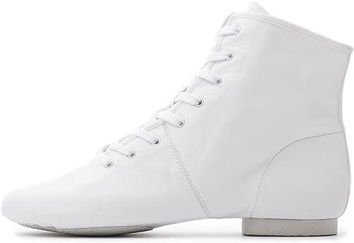 Katz Dancewear White PU Rubber Split