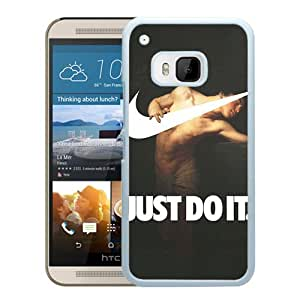 Hot Sale HTC ONE M9 Cover Case ,Narcissus 1881 By Gyula Benczur Swooshart White HTC ONE M9 Phone Case Unique And Fashion Design