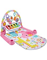 Fisher-Price Deluxe Kick & Play Piano Gym, Pink, Frustration Free Packaging [English]