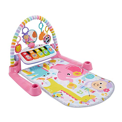 Fisher-Price Deluxe Kick 'n Play Piano Gym, Pink from Fisher-Price