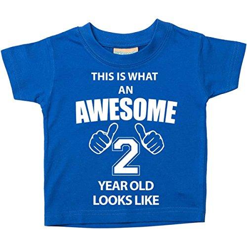 impresionante os un a Parece azul camiseta os 2do cumplea Esta es Beb 2 SqwURZMtF