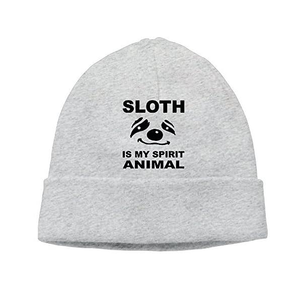 Cupp Sloth Is My Spirit Animal Logo Woolen Hats/Plush Hat/Head Cap -