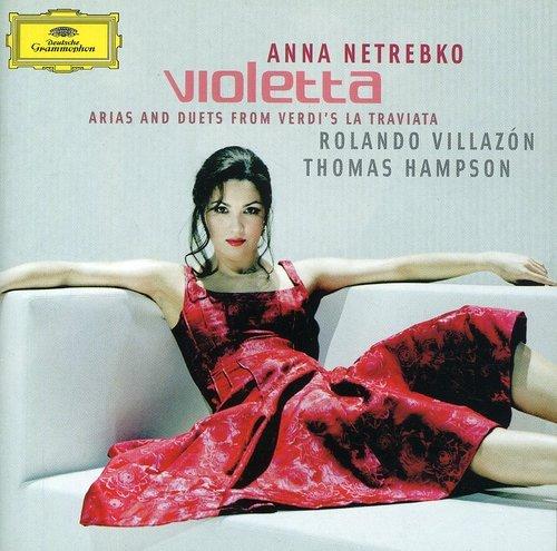 CD : Anna Netrebko - Violetta: Arias & Duets From Verdi's La Traviata (CD)