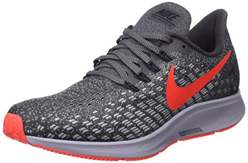 Nike Men's Air Zoom Pegasus 35 Running Shoes (11 D US, Thunder Grey/Bright Crimson/Phantom)