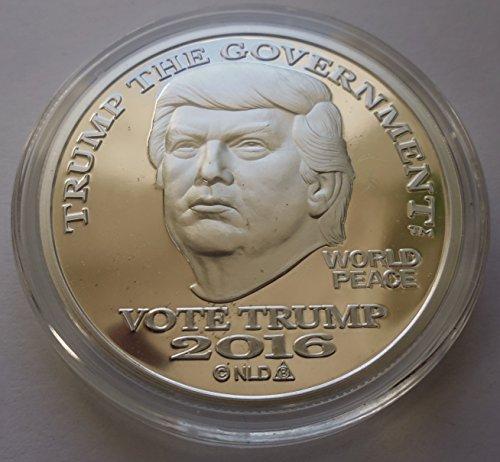 2016 Donald Trump Silver Dollar Coin 25 1 Troy Oz 999