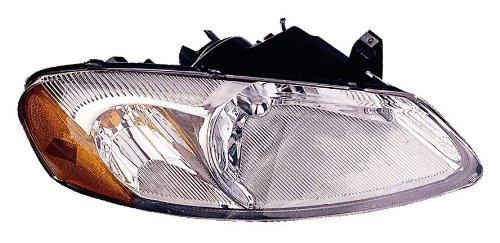 Dodge Stratus Sedan Headlight (For 2003 2004 2005 2006 Dodge Stratus Sedan | Chrysler Sebring Sedan Headlight Headlamp Driver Side Replacement)