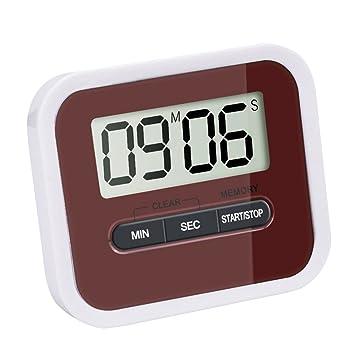 Digital LCD Küchentimer Uhr Timer Küchenuhr Eieruhr Stoppuhr Kurzzeitmesser Neu