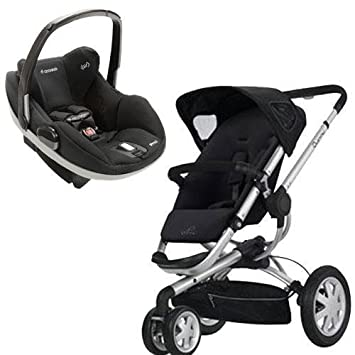 Amazon.com : Quinny Buzz Stroller WITH Prezi Cat (Black ...