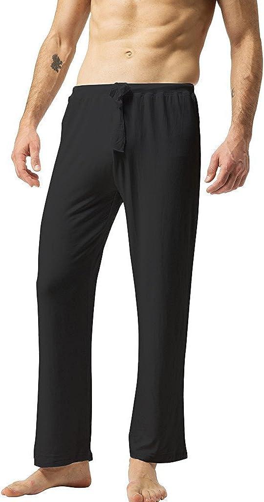 ZSHOW Homme Pantalon de Sport en Coton Souple Yoga