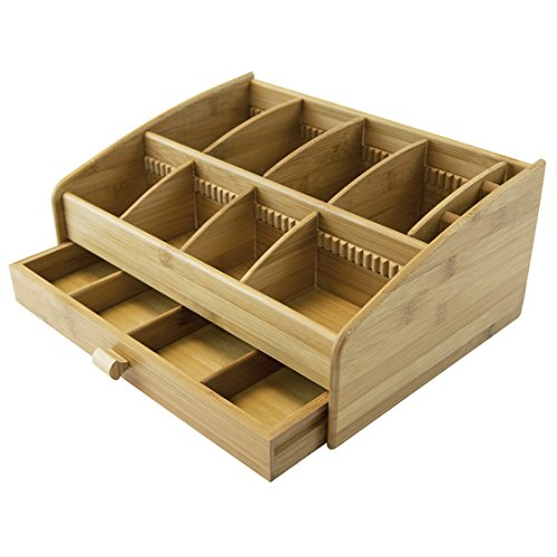 Bamboo Packets Storage Organizer Container product image