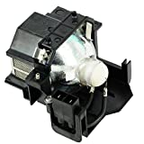 eWo's V13H010L41-001 Replacement Projector Bulb with Housing for ELPLP41 Epson Projectors, 170W