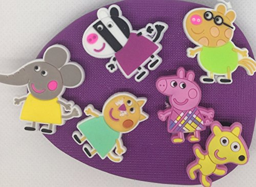 Peppa pig and friends silicone mould