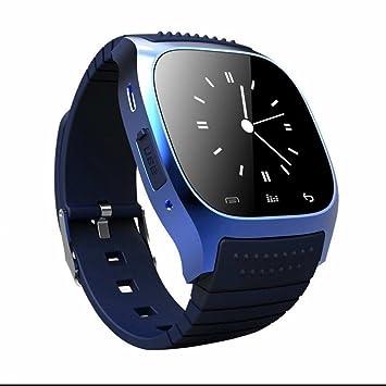Bluetooth Smart Watch Reloj Inteligente Hombre Mujer Pedómetro,Monitor de Sueño,Cámara Remota,