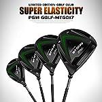 SHEHUIREN-Mens-Golf-Set-Deluxe-Stand-Bag-Tutti-Grafite-Shafted-Pacchetto-Set-5-Club-12-ClubNero12-Sticks