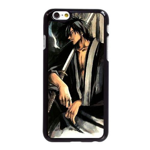 L8X34 Samurai Deeper Kyo Y4J2SH coque iPhone 6 Plus de 5,5 pouces cas de couverture de téléphone portable coque noire IG3WKX8WE