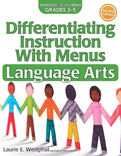 Pdf Teaching Differentiating Instruction with Menus: Language Arts (Grades 3-5)