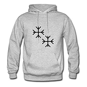 Comfortable Designed Grey Women Schnee2 Cool Hoody X-large