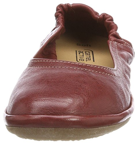 Portwine active Ballerine Soft 70 Rosso Donna camel qwYOC0xdC